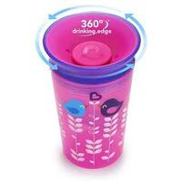 Munchkin Miracle Pink Plastic 9-ounce Bird Deco Sippy Cup