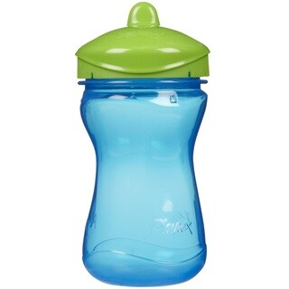 Playtex Anytime Blue/Green 9-ounce Spill Proof Spout Cup