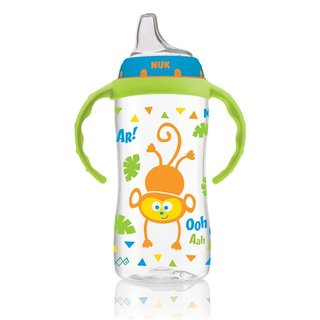 NUK Jungle Designs Plastic 10-ounce Learner Cup with Handles