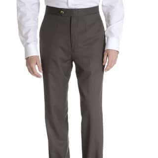 Sansabelt Men's 'Grant' 100 percent Natural Stretch Polyester Mini Check Side Pocket Classic Cut Dress Pant|https://ak1.ostkcdn.com/images/products/11934644/P18823298.jpg?impolicy=medium