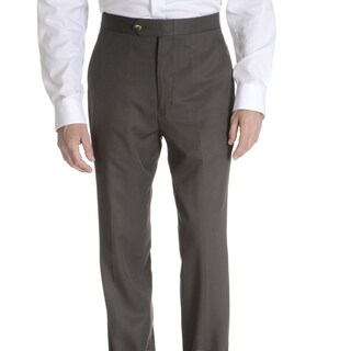 Sansabelt Men's 'Grant' 100 percent Natural Stretch Polyester Mini Check Side Pocket Classic Cut Dress Pant (As Is Item)