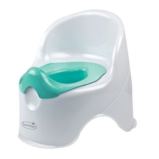 Summer Infant White and Teal Lil Loo Toddler Potty