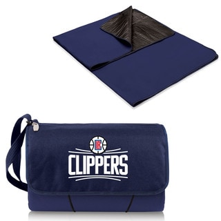 Picnic Time Los Angeles Clippers Polyester/Plastic Blanket Tote
