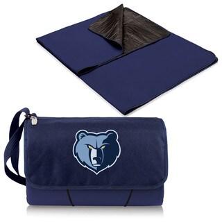 Picnic Time Memphis Grizzlies Navy Polyester Blanket Tote