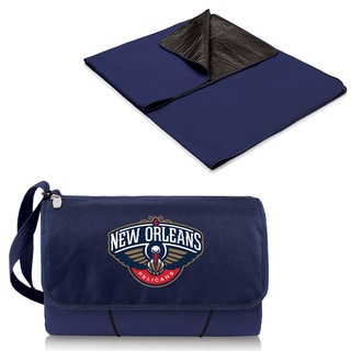 Picnic Time New Orleans Pelicans Navy Blanket Tote