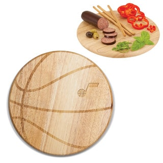 Picnic Time Utah Jazz Free Throw Wood Cutting Board