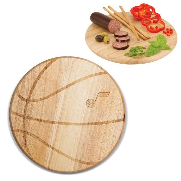 Picnic Time Utah Jazz Free Throw Wood Cutting Board