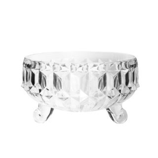 Fifth Avenue Gabriella Clear Crystal Snack Bowl