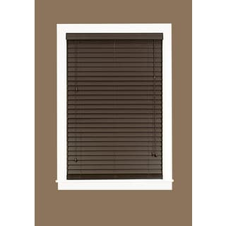 Madera Falsa Mahogany Faux Wood 2-inch Plantation Blind