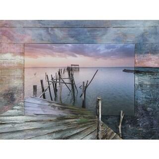 Benjamin Parker 'Pier' 29 x 39-inch Split Media Wall Art