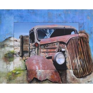 Benjamin Parker 'Reggie' 39-inch Split Media Wall Art