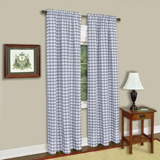 Achim Buffalo Check 84-inch Curtain Panel