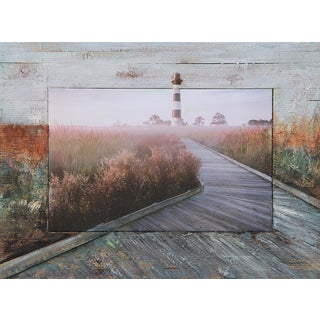 Benjamin Parker 'Beacon of Light' 40-inch Split Media Wall Art