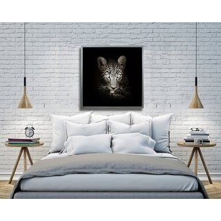 Benjamin Parker 'Cheetah' 42-inch Framed Canvas Wall Art