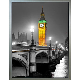Benjamin Parker 'Big Ben' 32 x 42-inch Framed Canvas Wall Art