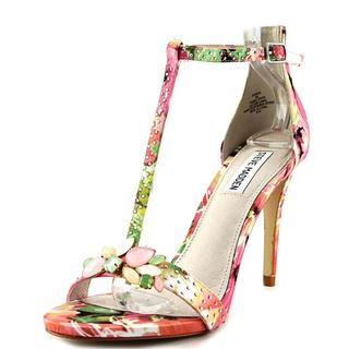 Steve Madden Women's Shawna Multicolored Faux-leather Sandals