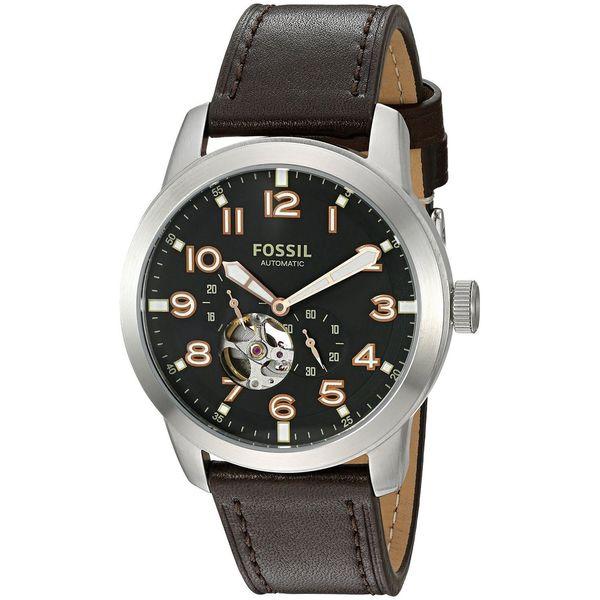 Shop Fossil Men S Me3118 Pilot 54 Chronograph Automatic