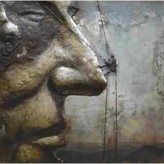 Benjamin Parker 'Rushmore' 39-inch Metal Wall Art