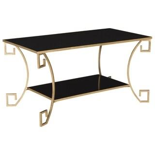 Safavieh Yasemeen Antique Gold Leaf Coffee Table