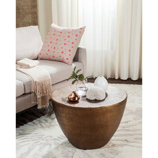 Safavieh Myrtis Brass Coffee Table