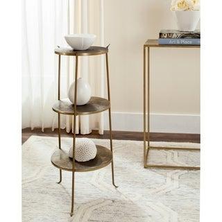 Safavieh Elda Brass Side Table