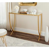 Safavieh Princess Gold/ Mirror Console