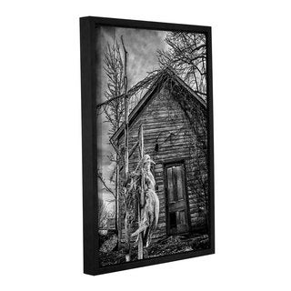 Tom Croce's 'American Gothic' Gallery Wrapped Floater-framed Canvas