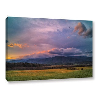 Tom Croce's 'Cades Cove 'Gallery Wrapped Canvas