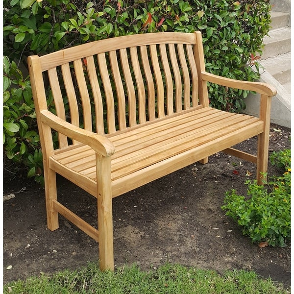 Cambridge Casual Sherwood Teak 4ft Bench