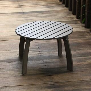 Cambridge Casual Grey Mahogany Renley Adirondack Side Table
