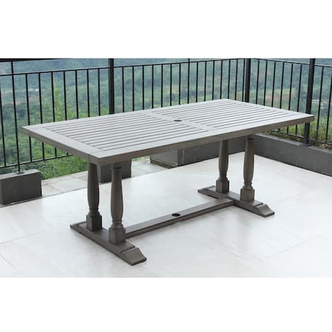 Cambridge Casual Renley Grey Mahogany Rectangular Dining Table