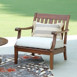 Como 2-piece Mahogany Lounge Chair Set