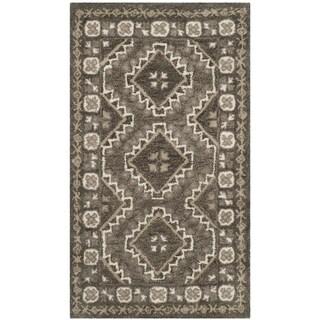 Safavieh Handmade Bella Brown/ Taupe Wool Rug (2' 6 x 4')