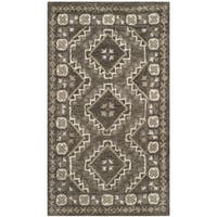 Safavieh Handmade Bella Brown/ Taupe Wool Rug - 2'6 x 4'