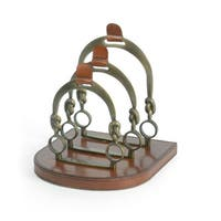 Horseshoe Letter Rack