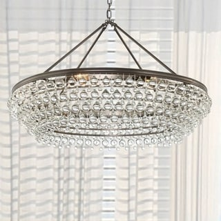 Crystorama Calypso Collection Bronze 8-light Chandelier