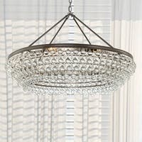 Bronze 8-light Chandelier