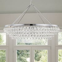 Polished Chrome 8-light Chandelier