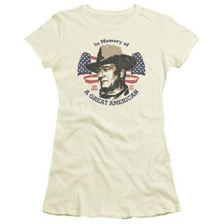 John Wayne/Great American Junior Sheer in Cream