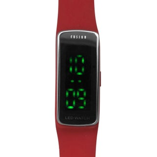 Dakota Fusion Blue Silicon and Plastic LED Watch (2 options available)