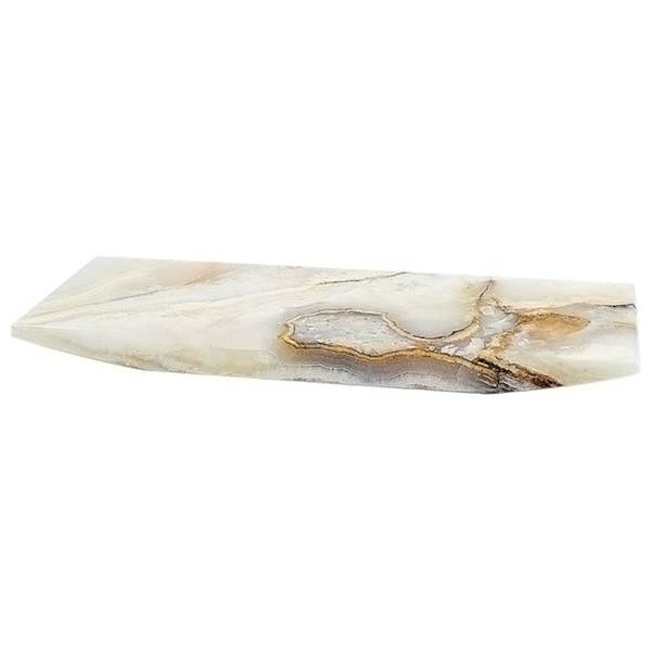 Nature Home Decor White Onyx Sushi Serving Plate. Opens flyout.