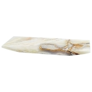 Nature Home Decor White Onyx Sushi Serving Plate