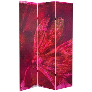 Double Sided Desire 6-foot Tall Canvas Room Divider