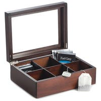 Bey Berk Alvis Brown Mahogany Tea Box