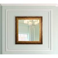 American Made Rayne Tarnished Bronze Square Vanity Wall Mirror