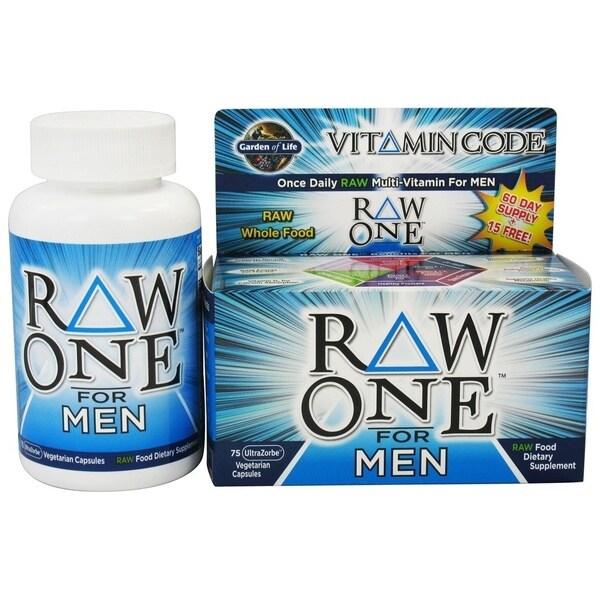 Shop garden of life vitamin code raw one men 39 s - Garden of life multivitamin review ...