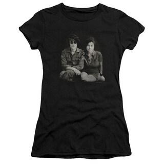 John Lennon/Beret Junior Sheer in Black in Black