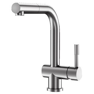 Dublin Stainless Steel Deck Mount Kitchen Faucet