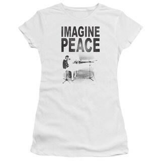 John Lennon/Imagine Junior Sheer in White in White