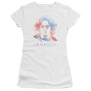 John Lennon/Colorful Junior Sheer in White in White